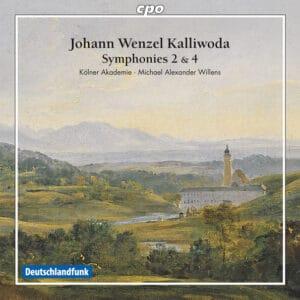Johann Wenzel Kalliwoda: Symphonies 2 & 4 Cover