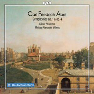 Carl Friedrich Abel:Symphonies op. 1 & op.4