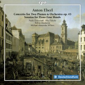 Anton Eberl: Concerto for Two Pianos and Orchestra op. 45