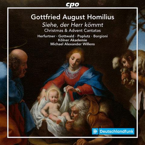 Homilius: Advent & Christmas cantatas