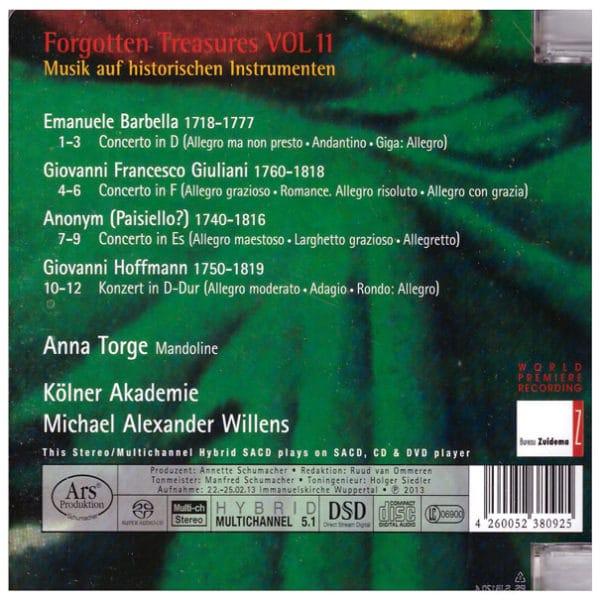 Mandolin Concertos Back