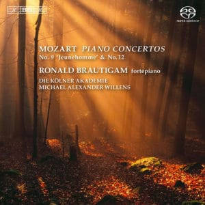 W.A.MOZART:PIANO CONCERTOS Nos. 9 (Jenamy/Jeunehomme);No.12, Rondo in A