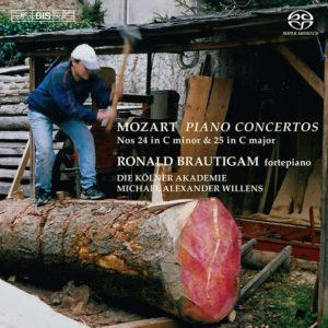 W.A. Mozart: Piano concertos Nos. 24 & 25