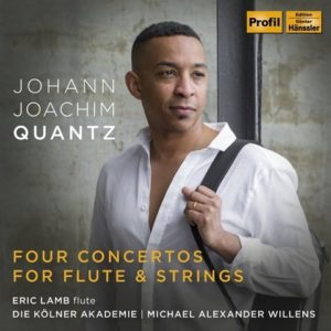 Johann Joachim Quantz: Four Concertos for Flute and Strings