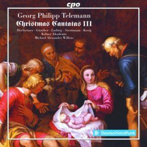 G.P. Telemann: Christmas cantatas lll