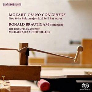 MOZART PIANO CONCERTOS Nos 18 & 22